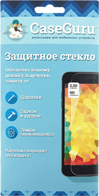 Защитное стекло CaseGuru для Samsung Galaxy S8/S9 Plus 3D Full Glue Black
