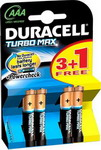 Батарейка Duracell LR 03/MX 2400-4BL TURBO MAX