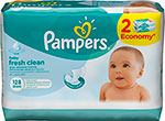 Салфетки детские Pampers Baby Fresh Clean 128 шт
