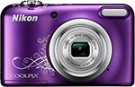 Фотоаппарат Nikon COOLPIX A 10 Purple Lineart