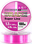 Леска Yoshi Onyx DRAKE SUPERLINE 100 M 0.128 mm Pink 89460