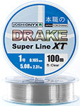 Леска Yoshi Onyx DRAKE SUPERLINE XT 100 M 0.286 mm Clear 89473