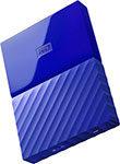 Внешний жесткий диск (HDD) Western Digital Original USB 3.0 1Tb WDBBEX 0010 BBL-EEUE My Passport 2.5`` синий