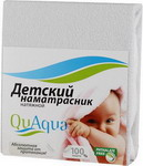 Наматрасник QuAqua Caress 65х125 белый (670056)