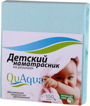 Наматрасник QuAqua Caress 65х125 голубой (690849)